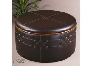 Brunner Storage Ottoman by Uttermost