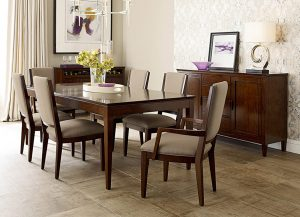 Elise Leg Table by Kincaid Chattanooga Dining Room Furniture