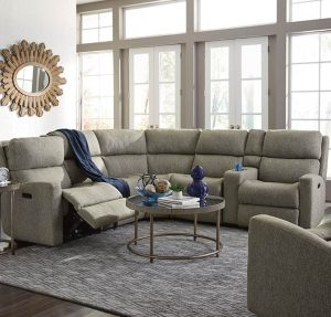Flexsteel sectional recliner