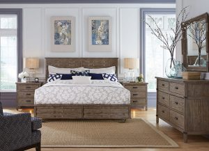 Foundry Panel Bed by Kincaid Bedroom Furniture Chattanooga TN