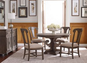 Greyson Round Dining Table by Kincaid Chattanooga Dining Room Furniture