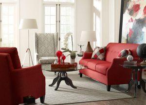 Modern Select Sofa by Kincaid Living Room Furniture Chattanooga