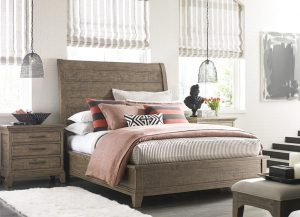 Plank Road Eastburn Sleigh Bed by Kincaid Bedroom Furniture Chattanooga TN