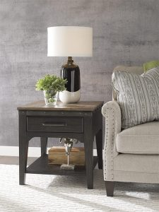 Plank Road End Table by Kincaid Living Room Furniture Chattanooga