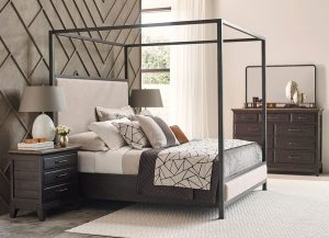 Plank Road Shelly Canopy Bed by Kincaid Bedroom Furniture Chattanooga TN