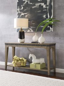 Plank Road Sofa Table by Kincaid Living Room Furniture Chattanooga