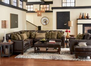 Port Royal Sectional by Flexsteel Living Room Furniture Chattanooga