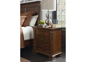 Portolone Bachelor's Chest with Marble Top by Kincaid Bedroom Furniture Chattanooga TN