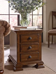 Portolone Chairside Table by Kincaid Living Room Furniture Chattanooga