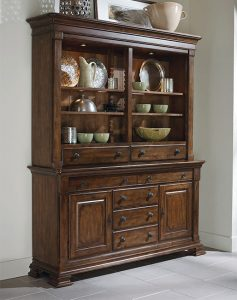 Potolone China Cabinet by Kincaid Chattanooga Dining Room Furniture