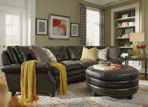 Suffolk Sofa by Flexsteel Living Room Furniture Chattanooga