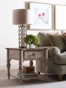 Weatherford End Table by Kincaid Living Room Furniture Chattanooga