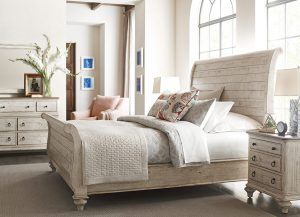 Weatherford Lyton Sleigh Bed by Kincaid Bedroom Furniture Chattanooga TN