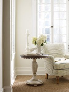 Weatherford Round Accent Table by Kincaid Living Room Furniture Chattanooga