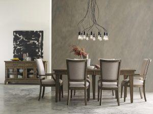rustic Kincaid dining furniture