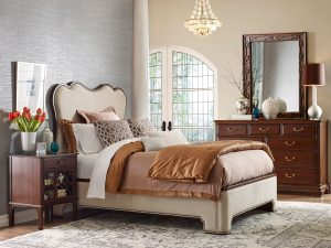 beautiful bedroom with color Chattanooga