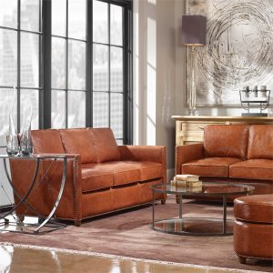 Chattanooga leather Uttermost decorations