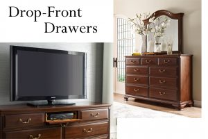Drop-Front Drawers