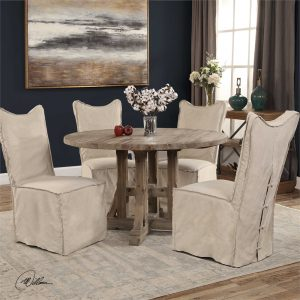 Uttermost eat in kitchen table