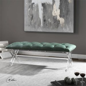 how to decorate with green Furniture in Chattanooga