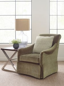 how to decorate using green Furniture in Chattanooga