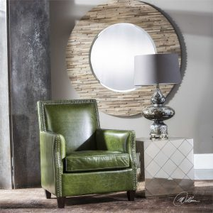 Trust EF Brannon for Furniture Sales Chattanooga TN like this beautiful chair and mirror
