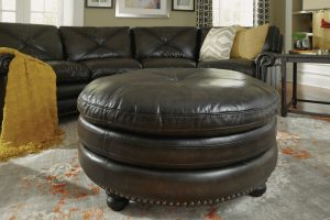 Leather Ottoman for the Home