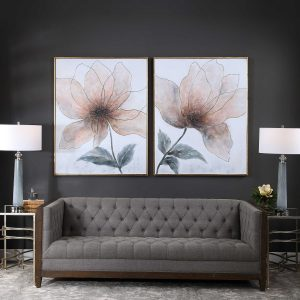 Chattanooga interior design Uttermost wall statement pieces