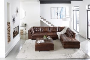 Chattanooga Leather Living Room Furniture Omnia