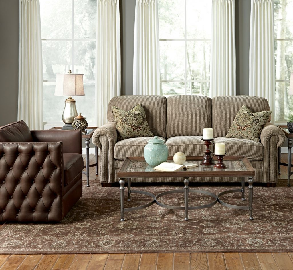 Update your space with any one of these stylish Flexsteel furniture sofas for your Chattanooga living room.