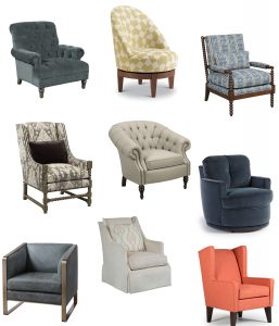 Find the perfect chair to boost the style in your Chattanooga bedroom.