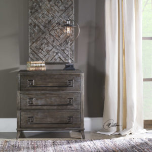 This beautiful Baseer chest merges modern and rustic elements adding style to any Chattanooga bedroom.