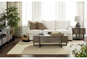 Breathe freshness into your Chattanooga interior design with the neutral airy pieces seen here by Hammary.