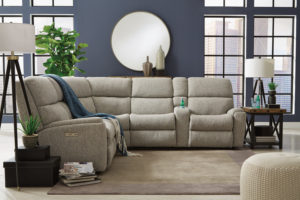 The Rio from Flexsteel is a power reclining sofa perfect for your Chattanooga living room.