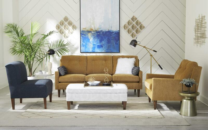 Another great alternative to grey for your Chattanooga interior design is camel colored pieces like these from Best Home.