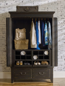 Add an armoire, like this Kincaid piece, to your Chattanooga bedroom furniture for more storage in a stylish package.