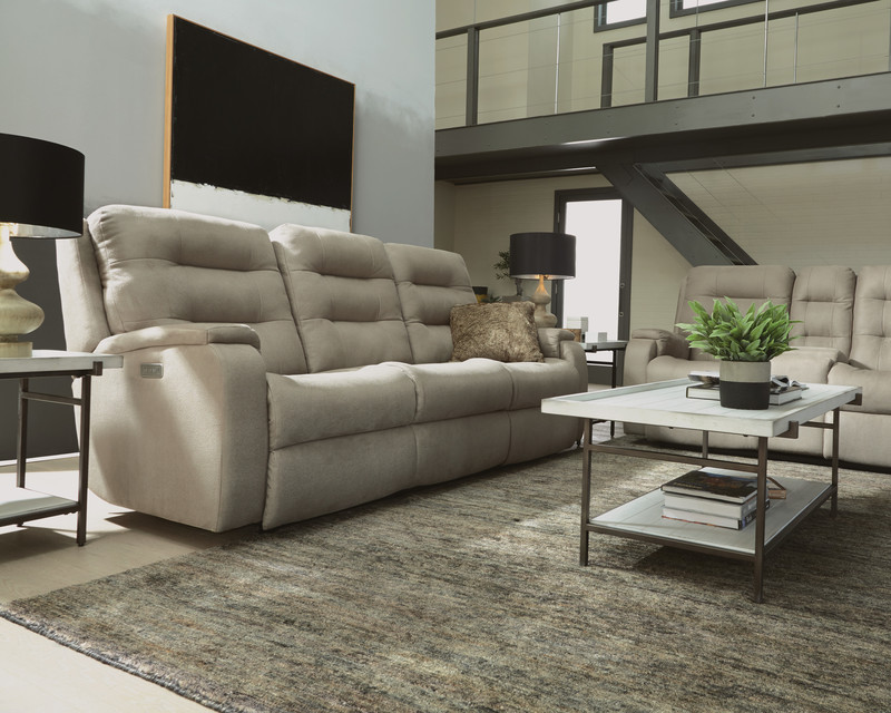 The Arlo by Flexsteel is yet another great power reclining sofa for your Chattanooga living room.