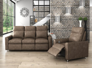 For the ultimate in customizable power reclining sofas for your Chattanooga living room, check out the Power Solutions line by Omnia Leather.