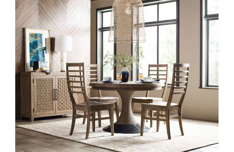 Revamp your Chattanooga dining room with this Lindale pedestal table by Kincaid.