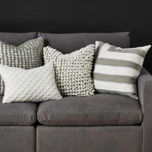Infuse your Chattanooga interiors with texture easily with stylish throw pillows like these from Uttermost.