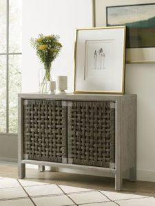 Add texture to your Chattanooga interiors by way of pieces like this Kincaid accent cabinet, which oozes with style.