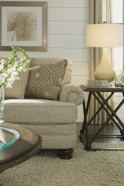 A sofa with heavily textured fabric is another great way to update your Chattanooga interiors.