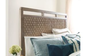 Add texture to your bedroom decor with pieces like this Kincaid headboard, a sure way to style up your Chattanooga interiors.