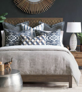 Another cost-effective way to freshen up your Chattanooga interiors is with brand new bedding.