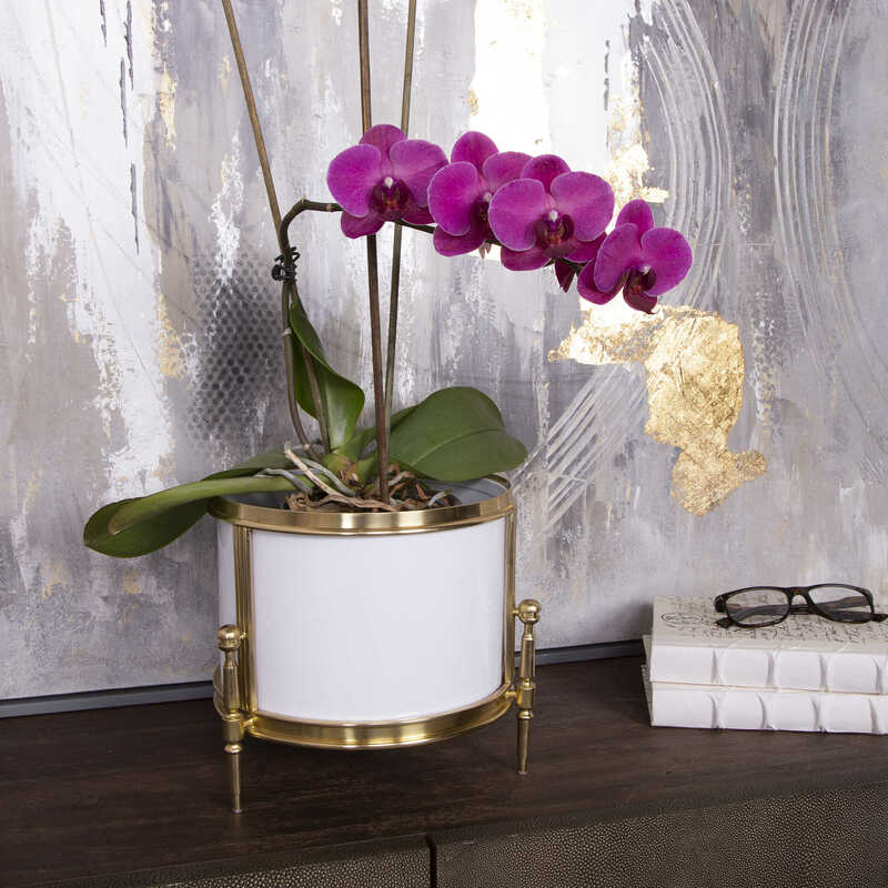 Another way to add interest and function to your Chattanooga interiors is with pieces like this cachepot from Uttermost.