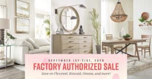 Our Chattanooga furniture warehouse is having a major sale, just in time for Labor Day!