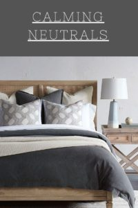 Update your Chattanooga bedroom furniture with calming neutrals just like the ones found on this Eastern Accents bed.