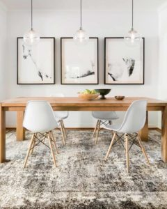 Incorporate neutrals into your Chattanooga interior design in ways that are anything but boring with pieces like this rug from Loloi.