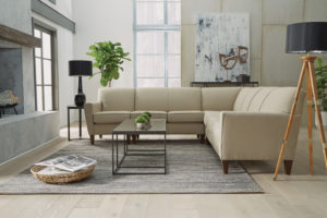 Clean lines are another key element in Scandinavian design.