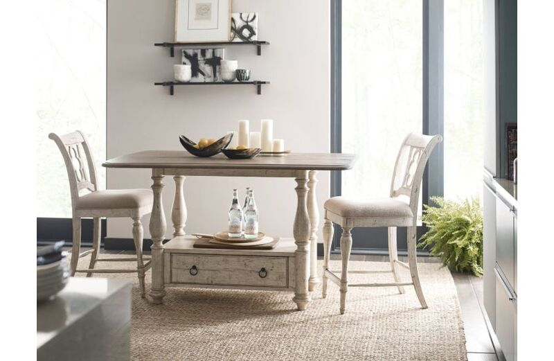 If you're looking for a Chattanooga dining room set, the Weatherford by Kincaid may be perfect for your small dining space.